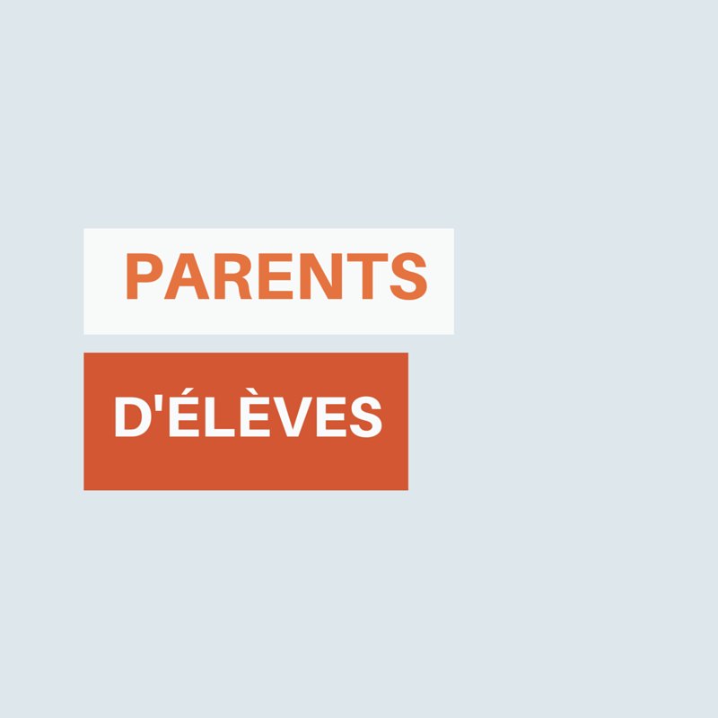 parents d'�l�ves