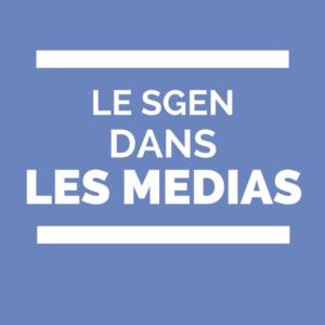 Le sgen dans les médias