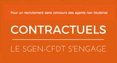 Contractuel·les enseignant·es: avancées significatives