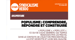 Populisme: comprendre, répondre et construire