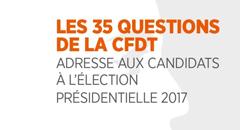 Présidentielles: les 35 questions de la CFDT
