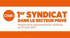 CFDT première organisation syndicale un résultat historique !