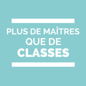 Plus de maîtres que de Classes PDMQDC