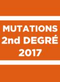 mutations second degré 2017