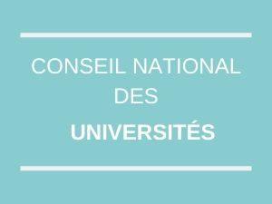 cnu campagne 2020 - CNU : report des sessions PEDR et promotions des enseignants-chercheurs