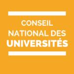 CNU Conseil national des universités élections 2015