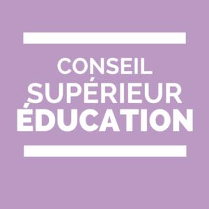Conseil supérieur de l'Éducation Lycées