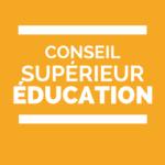 Conseil supérieur de l'éducation du 9 novembre 2017 - Réforme de l'accès à l'enseignement supérieur