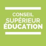 Conseil supérieur de l'éducation, l'urgence écologique