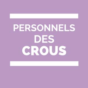 CROUS Personnels des Crous