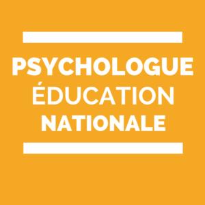 psy-EN psychologue de l'Éducation nationale