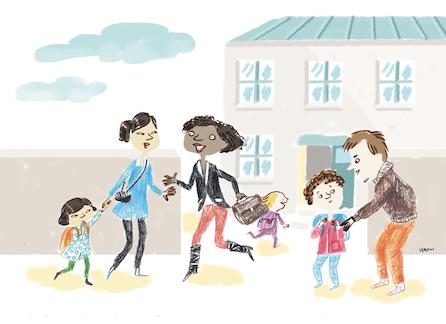 dessin de Verom école ouverte aux parents témoignage