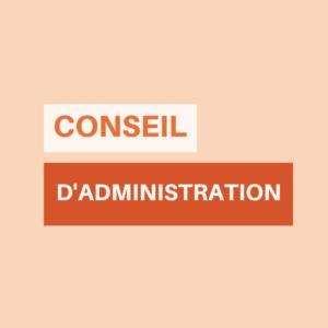 élections CA Conseil d'administration