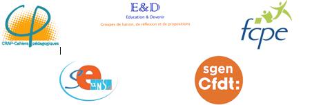 logos évaluation communiqué commun