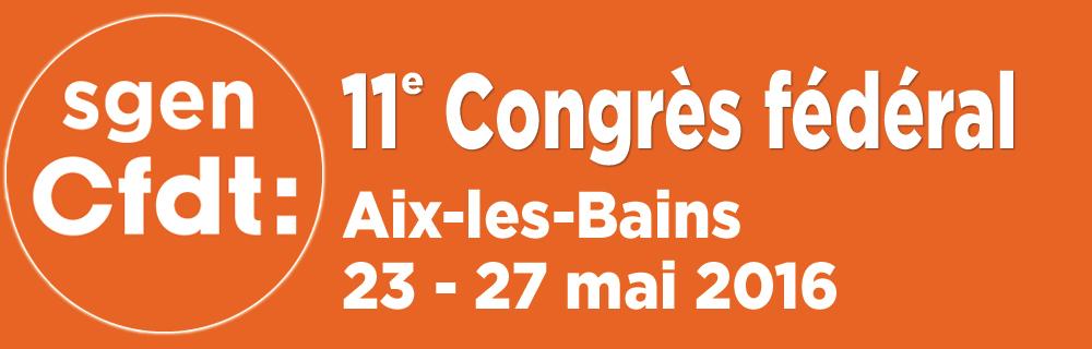 Congrès 2016
