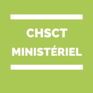 CHSCT Ministère de l'agriculture