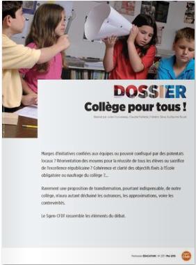 dossier PE collège pour tous