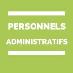 Personnels administratifs contractuels