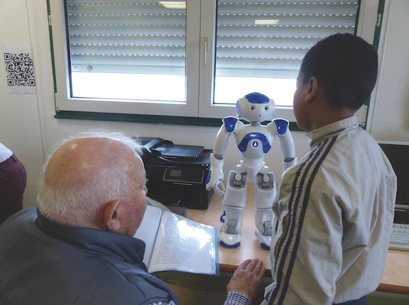 nao le robot projet intergénérationnel