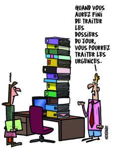 conditions de travail administratifs