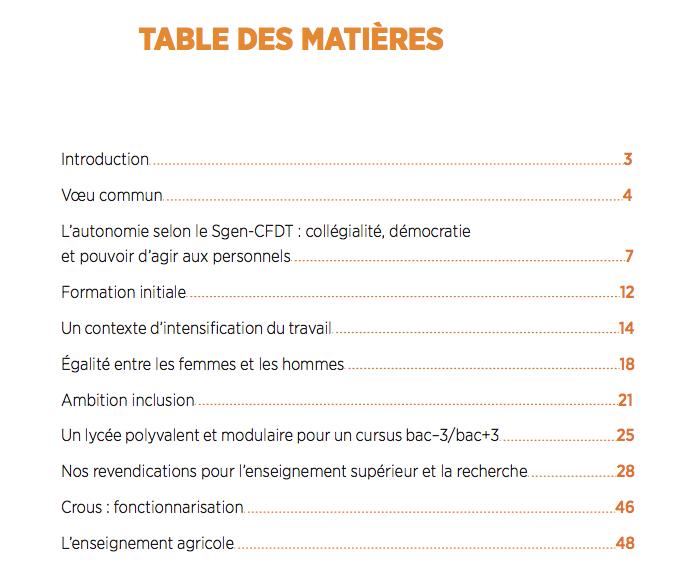 Sehr Dossier Présidentielles 2017 : les priorités du Sgen-CFDT - le  VQ81