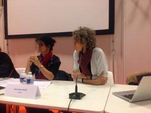 Conférence Sgen-CFDT à Educatec Educatice avec Anne Marie Nicot de l' ANACT