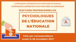 élections professionnelles Psy-EN