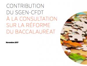 consultation mathiot sur la reforme du baccalaureat