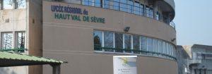 Lycée Haut Val de Sèvre, Saint-Maixent-L'École