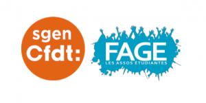 logos sgen-cfdt et fage tribune enseignement supérieur