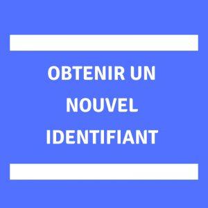 Obtenir identifiant