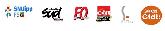 logos intersyndicale 1D mars 2019