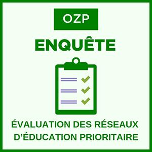 enquête - évaluation des réseaux d'éducation prioritaire