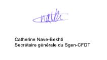 signature CNB mobilisation personnels