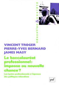 le bac pro Vincent Troger