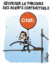 Négociation du protocole de gestion pour les agents contractuels