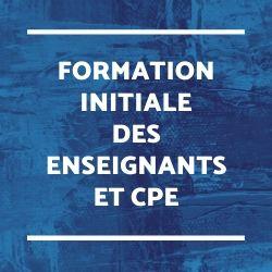 INSPE : mission Sherrigham et mise en œuvre de la réforme des MEEF