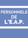 Personnels de l'EAP