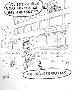 télétravail services déconcentrés Grenoble