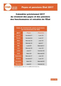 payes pensions salaire