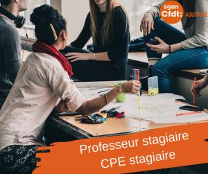 Stagiaires, Professeurs et CPE