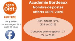 CRPE Bordeaux
