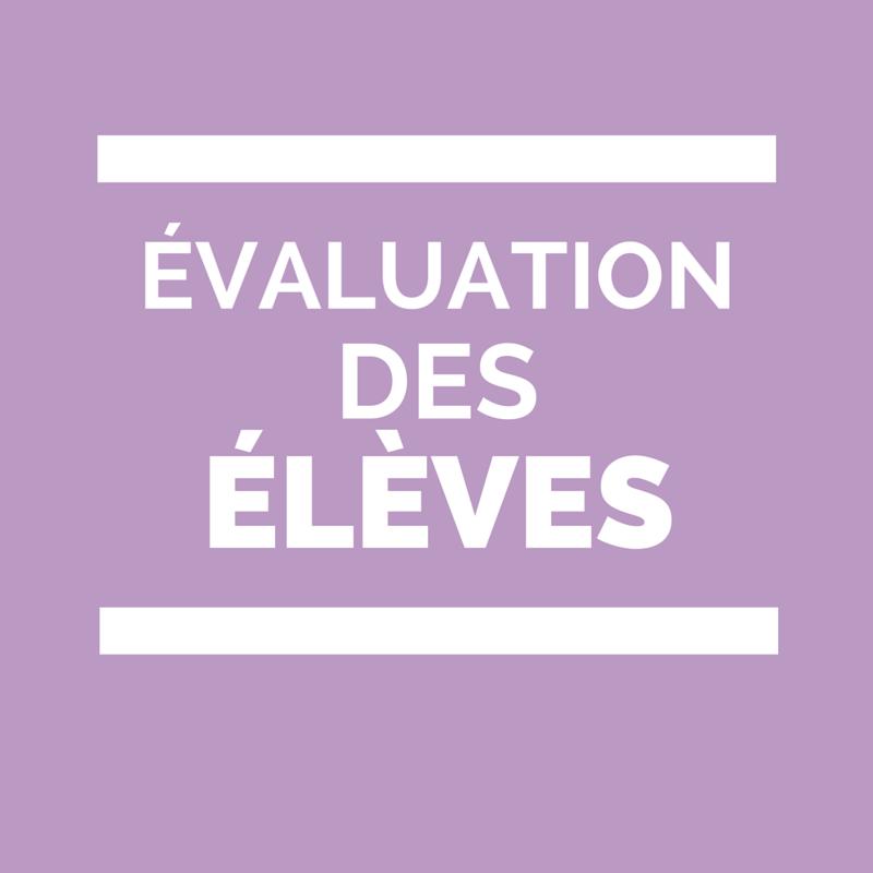 Évaluations nationales CP 6ème