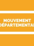 Mouvement départemental 1er degré