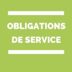 Portes ouvertes et obligations de service