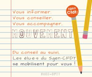 mouvement des enseignants des écoles