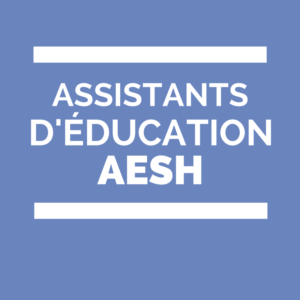 CCP des AED et AESH