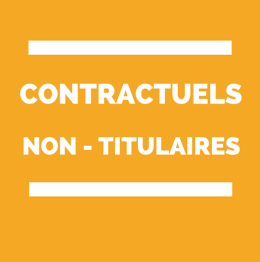 contractuels non titulaires