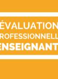 évaluation professionnelle des enseignants