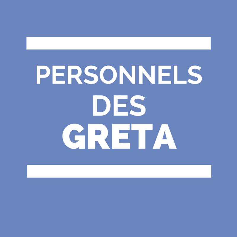 Personnels des GRETA